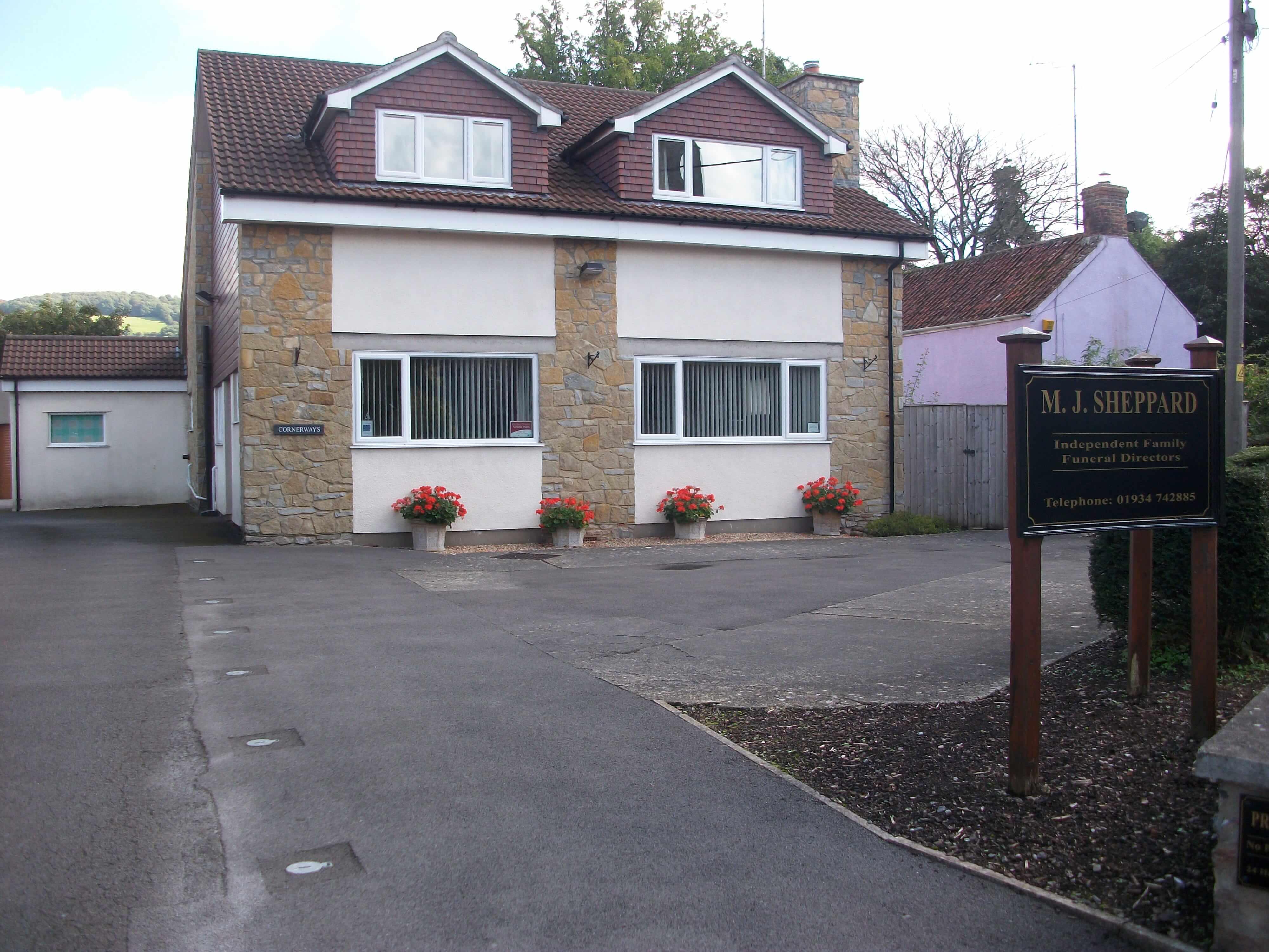 MJ Sheppard Funeral Directors in Cheddar, Somerset - MJS